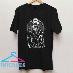 Punk Skull T Shirt