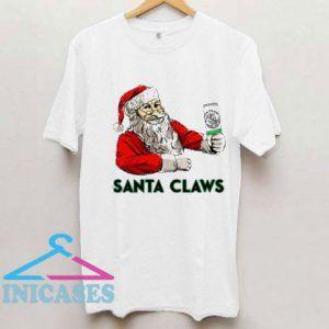 Santa Loves Claws Christmas 2020 T Shirt