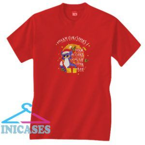 This is My Funny Present Christmas Cat Gift T Shirt