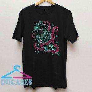 Astronaut Octopus T Shirt