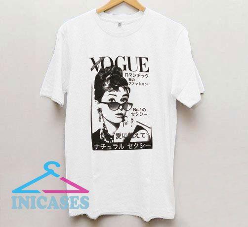 Audrey Hepburn Retro T Shirt