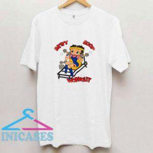 Betty Boop Workout T Shirt