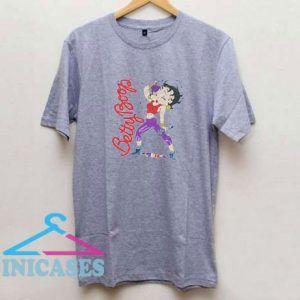 Betty Boop Aerobics T Shirt