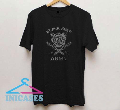 Black Rose Army T Shirt