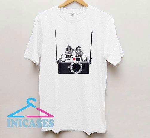Camera Shirt Retro Camera T Shirt