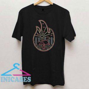 Camp Fire T Shirt