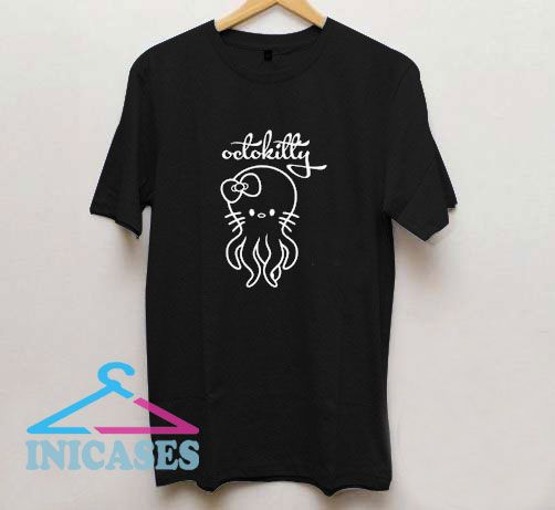 Cute Cat Octokitty T Shirt