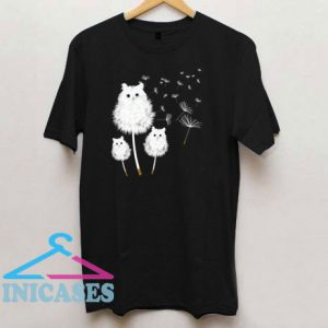 Dandelion Cat T Shirt