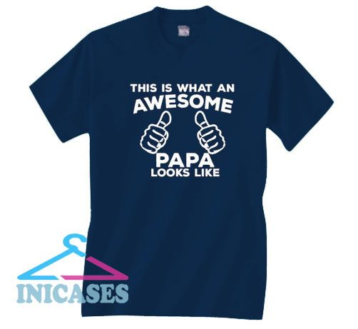 Funny Fathers Day Navy T Shirt