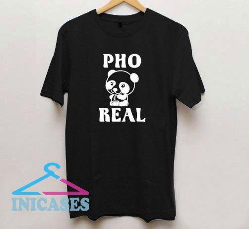 Funny Panda Pho T Shirt