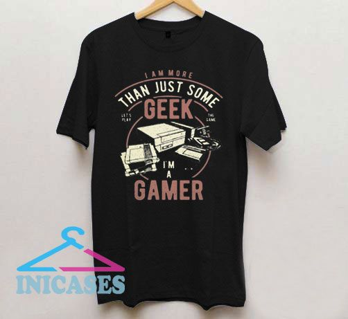 Geek Gamer Graphic T Shirt