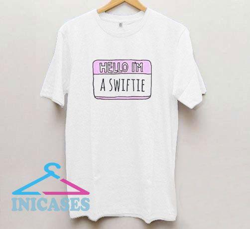 Hello im A Swiftie Womens T Shirt