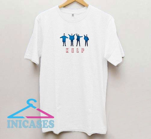 Help The Beatles White T Shirt