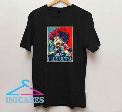 Izuku Anime My Heroes T Shirt