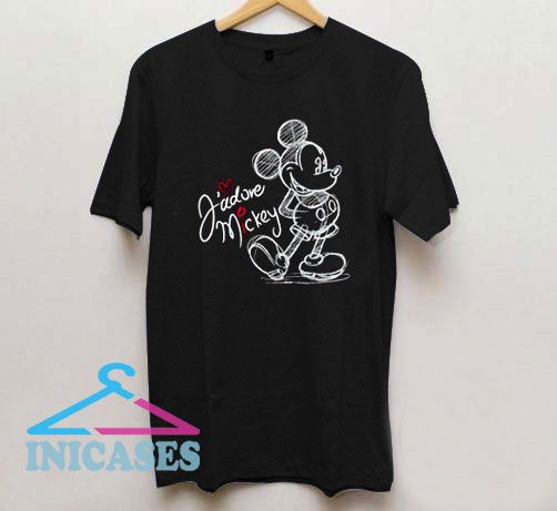 Ladies Mickey Mouse T Shirt