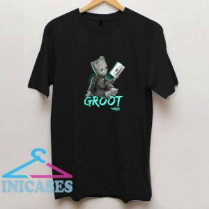 Marvel Groot Mix Tape Guardian T Shirt