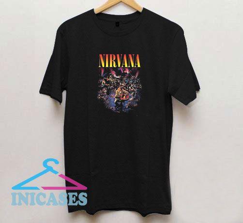 Nirvana Live Concert Photo T Shirt