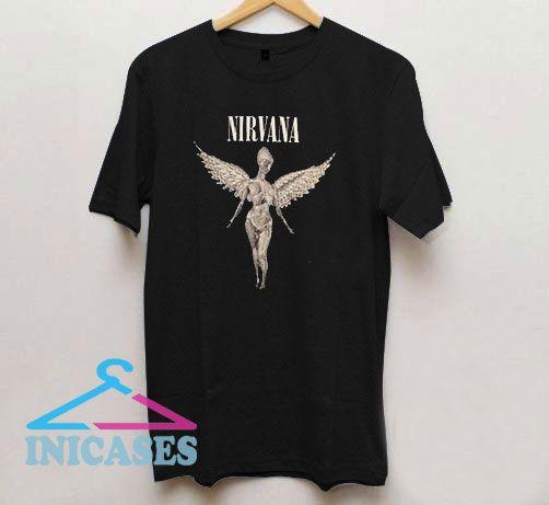 Nirvana Vintage Black T Shirt
