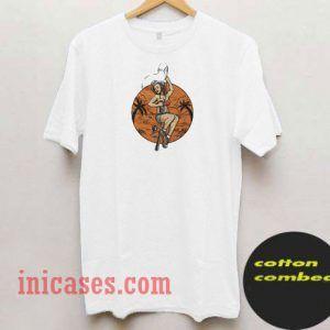 Pin Up Fising And Party Vector T Shirt