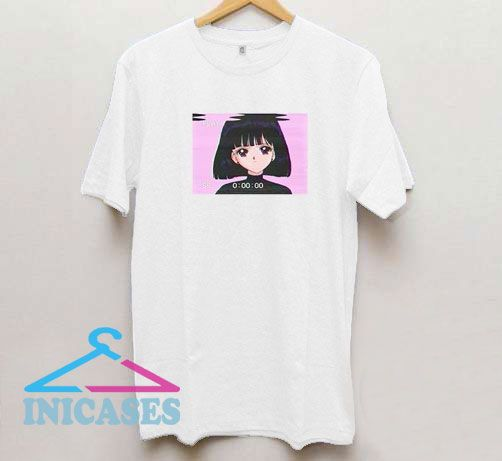 Sad Girl Retro T Shirt