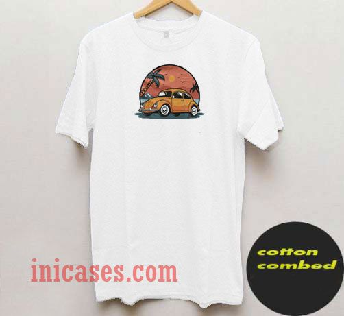 Summer Holiday Vector T Shirt
