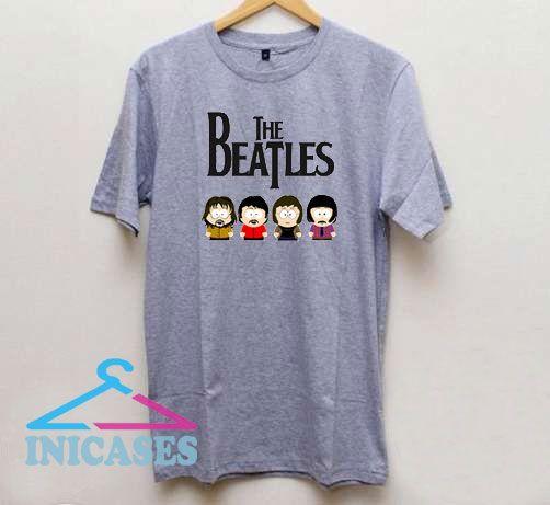 The Beatles Grey T Shirt