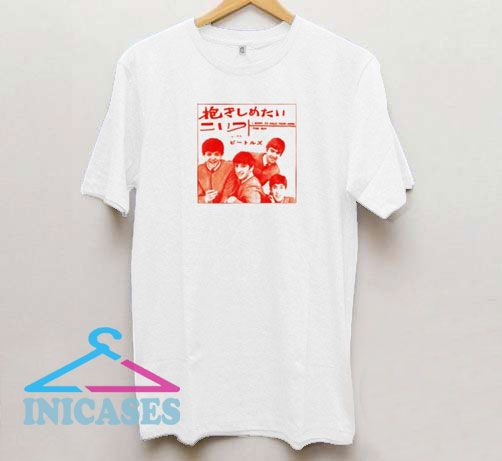 The Beatles Vintage Japanese T Shirt
