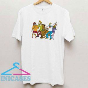 Whole Gang 13 Mystery Inc T Shirt