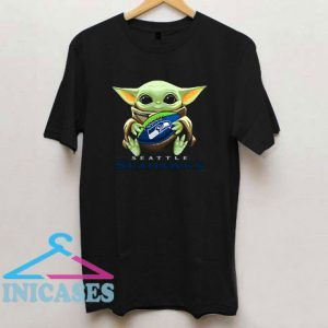 Baby Yoda Seattle Seahawks T Shirt