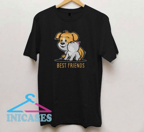 Best Friends Dog Vector T Shirt