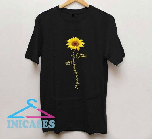 Birthday Girl And Queen Flowers T Shirt
