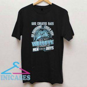 Born To Fish Walleye T Shirt