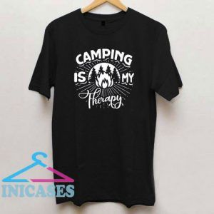 Camping Is My Happy Place T Shirt