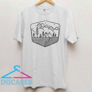 Camping Line T Shirt