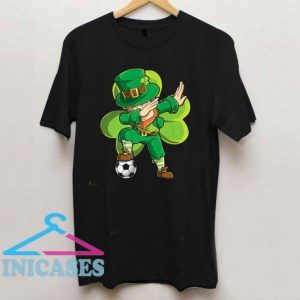 Dabbing Leprechaun Soccer St Patricks Day T Shirt