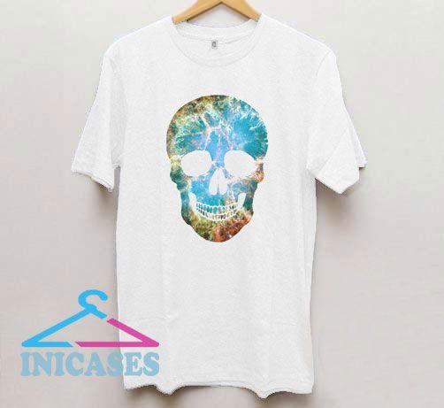 Galaxy Skull T Shirt
