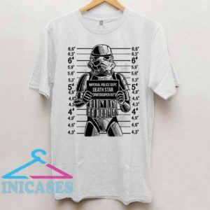 Imperial Police Dept Death Star T Shirt
