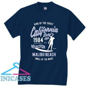 King Of The Coast California 1984 T Shirt