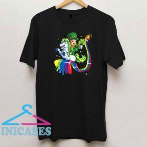 Lepricorn Leprechaun Unicorn St Patricks Day T Shirt