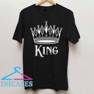 Matching Couple King and Queen Valentines Day T Shirt