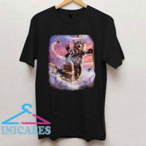 Monster Cat Terrorize Manhattan New York T Shirt
