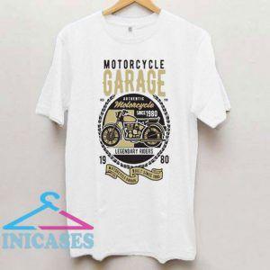 Motorcycle Garage T Shirt
