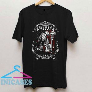 Nation Of Heroes T Shirt