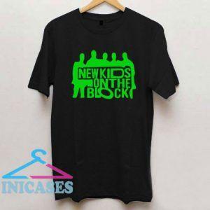 New Kids On The Block Black T Shirt