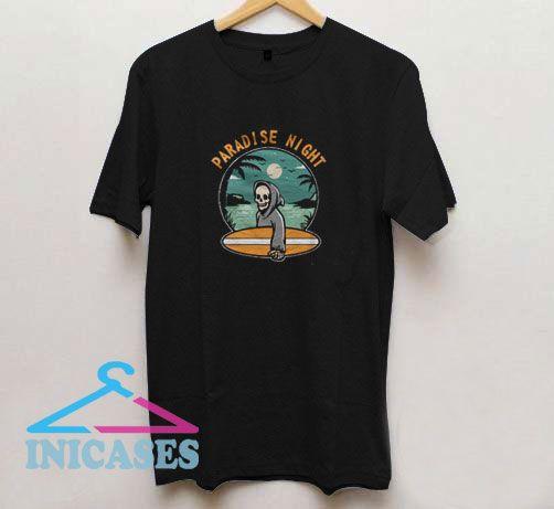 Paradise Night Vector T Shirt
