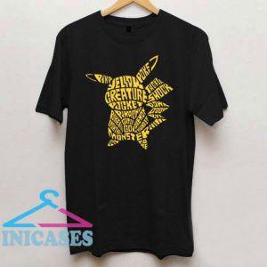 Pikapoke Yellow Creature Pocket T Shirt
