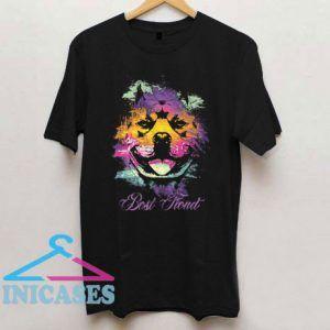 Pitbull Love Colorfull T Shirt