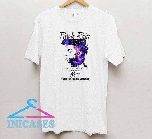 Purple Rain Prince 1958-2016 T Shirt