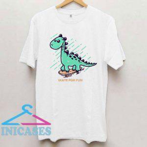 Skate Dinosaur T Shirt