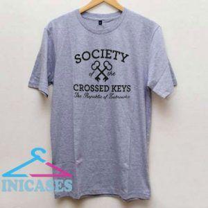 Society Of The Crossed Keys T Shirt
